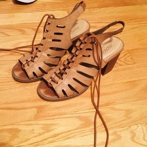 Great lace up heels
